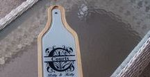 Wine and Cheese set / Personalized wine and cheese sets, using any image or wording you choose