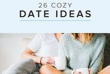 """date ideas for couples / Fun date night ideas for couples. Outdoor activities, cozy dates, """"together lets"""" list, free date night ideas."""