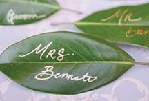 eco-friendly wedding ideas / Ideas, inspiration and advice to help you with your eco-friendly, sustainable, ethical, green wedding.