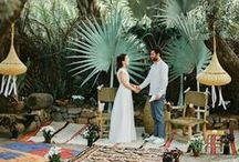 destination wedding / Location ideas + inspiration for your destination wedding. Tropical, exotic + hot climates such as Morocco, California Redwoods, Hawaii, St.Lucia, Thailand.