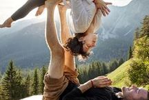 couples acro yoga