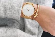 watches. / minimal & chic. the ultimate accessory.