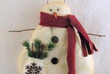 snowmen / by Judy Bellows