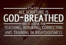 God's Word and Inspirational Quotes / by Jo Ann Frey