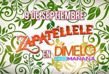 Zapatéllele / #EventosAzteca #Zapatéllele #AztecaRealityShow #AztecaDímeloCadaMañana