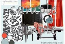 Dining Room Design Packages / Get ready for the holiday craze! Just some samples of the great designs from iStyleinteriors.com for the Dining Room. Check 'em out. From now until December 31, 2013 we're taking 15% off any design packages. Type in the coupon code HOLIDAYS2013!