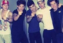 One Direction!! <3 / Amazing guys who I obsess over waayyy too much! / by Skinny Sticks