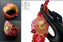 SOUTACHE JEWELRY by RITA creative design. / my soutache jewelry