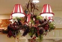Decoración de lámparas Navideñas...