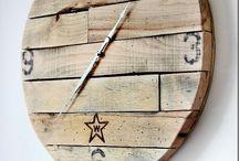 Pallets e cassette di legno / Idee per riciclo pallet e cassette di legno