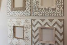 Portafoto, quadri, cornici e wall art / Diy