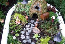 Fairy Garden / Idee per realizzare un giardino delle fate
