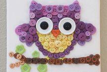 OWLS projects / Gufi e civette da cucire o costruire