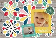 Digital Scrapbook Layouts / Digital scrapbook pages made with kits available at www.snapclicksupply.com