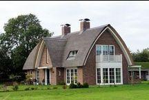 Landhuis / Enkele landhuizen gebouwd door Bloemfontein, specialist in vrijstaande woningen.