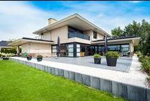 Moderne villa / Enkele moderne villa's gebouwd door Bloemfontein, specialist in vrijstaande woningen