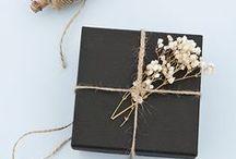 Gift wrapping ideas by BERND WOLF / Das Schenken fängt nicht erst beim Inhalt an, sondern schon bei einer bezaubernden Verpackung!