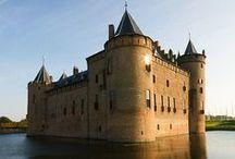 Nederland kastelen forten landgoed
