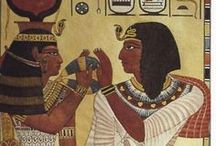 8. Angient Egyptian tomb wall decoration