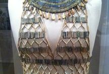 8. Ancient Egypt clothes & textiles / remains of Ancient Egyptian clothes and textiles