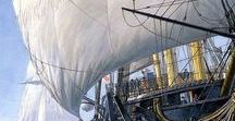 4. Tall Ships and other sailing boats. / tall ships and small sailing boats. real and fantasy all based on the real. also pirate ships.