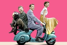 Roman Holiday / The film, completely filmed on location in Rome, which inspired our business. Audrey Hepburn was the original Scooter Maven!