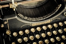 Finding the time to write (Typewriters, Quills, Manuscripts and Penmanship) / A salute to every writer and author who sweated over ink, pencil and typewriters