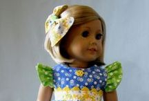 """Dolls - 18"""" Dolls Clothes Trendy & Contemporary / Sewing ideas for trendy and current look for 18"""" dolls"""