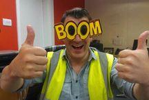 #BOOM!  / BOOM vision on tour.....
