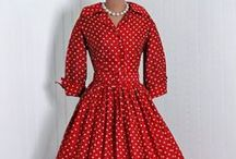 1950's Vintage Long Sleeved Dresses / Sewing inspiration for long sleeved dresses 1950s style