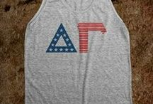 Get your Greek on... American made Greek apparel / Sorority apparel ..... more to come
