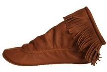 Made in America Women's Moccasins  / Footskins Moccasins' and Boots