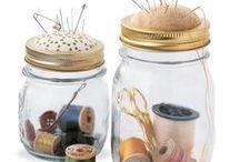 Glass Jars Repurpose