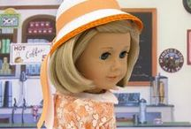 """Dolls - 18"""" Dolls Classic Clothes (1930's to 1950's) / Sewing ideas for classic dolls clothes from mid 20th century"""