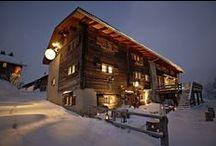 Hotel Guarda Val - Lenzerheide (CH) / Contemporary high Alpine-design In a 300 year old barn