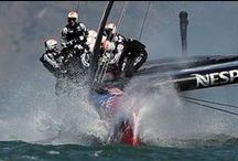 """Team New Zealand / """"To Emirates Team New Zealand, you have made us proud and we have loved every moment of watching your boat Aotearoa literally fly around San Francisco Bay.  On behalf of four and a half million Kiwis, congratulations on a great campaign.""""  - Bill English, Deputy Prime Minister, NZ"""
