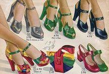 If the shoe fits, wear it.. / 1940s footwear