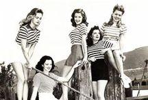 Stripes! / Striped vintage clothing.