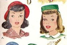 Patterned / 1950s vintage sewing patterns for inspiration