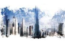 Städte Serie   City Series / Bilder von Städten digital aufbereitet!