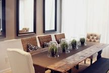 Dining Rooms / Pictures and Ideas for Dining Rooms