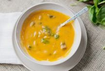 Soups & Starters: Vegetarian Recipes / Vegetarian recipes to try and make for lunch or dinner, with no meat ingredients