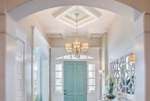 Envious Entryways, Architecture, Ceiling Vaults and More! / An entryway needs to make a good first impression! Welcome your guests with these beautiful entryways or just collect ideas for a unique structural home design.