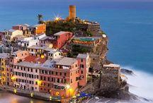 Cingue  Terre Italië