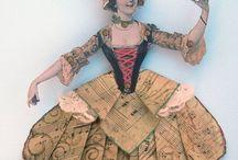 Cajitas y maravillas en papel / Cajitas y cosas hechas con papel y cartón.