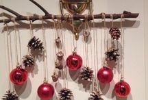 Navidad / Objetos de Navidad. Decoración, adornos, tarjetas.