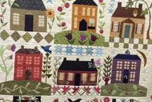 Quilts Houses & Buildings
