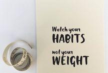 Healthy eating / Menu idees vir die gesond eet vir ons almal