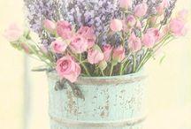 Ikebana. Bouquets. / Ramos, bouquets, composiciones con flores y plantas.