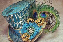 Sombreros y tocados / Sombreros, tocados, pamelas. Qué pena que no se lleven tanto...